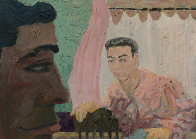 A Meeting Ground: Imaginary Portrait #11 – Chester Villalba and Robert Steinberg